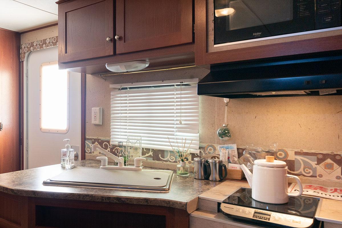 簡易キッチン一例